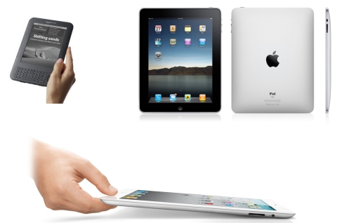 ipad ipad2 kindle3 tablet amazon apple